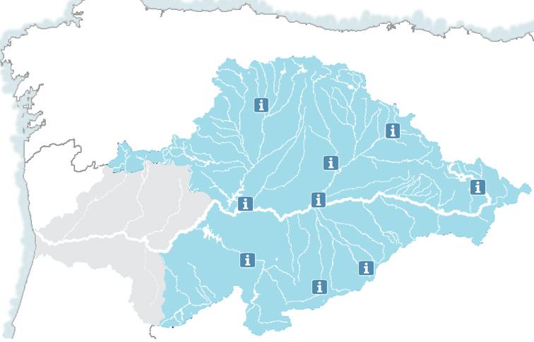 Cuenca Del Duero Mapa.Portal De La Chd Chduero